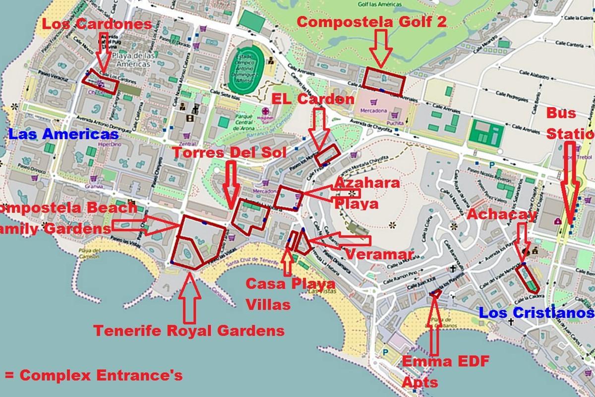 Spanish isles holidays - Apartamentos las torres tenerife ...