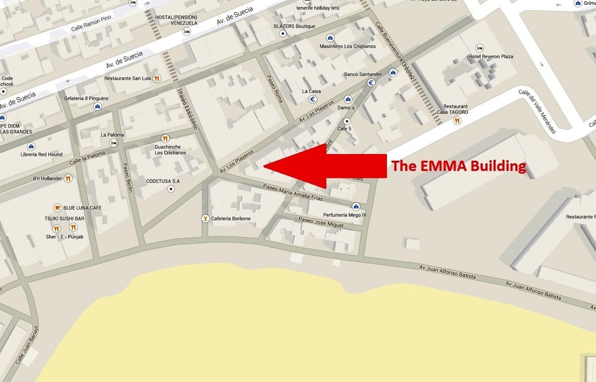 Emma Building Map 1
