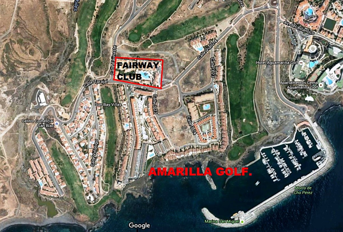 Amarilla Golf Map