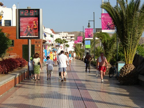 Los Cristianos Beach Walk Aug 04 1