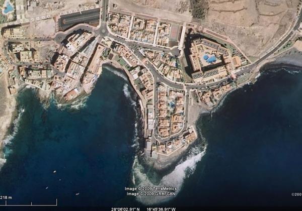 La Caleta Google Map